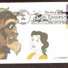 Walt Disney Art Beauty and the Beast First Issue USA