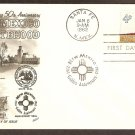 New Mexico Statehood, 50th Anniversary, Shiprock Navajo Indian Sacred Mountain FW First Issue FDC