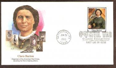 Clara Barton, Civil War Nurse, First Issue USA