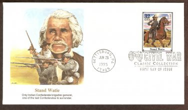Stand Waite, Only Indian Confederate Brigadier General Civil War First Issue USA