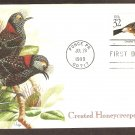 Tropical Birds, Crested Honeycreeper, Puerto Rico, First Issue USA
