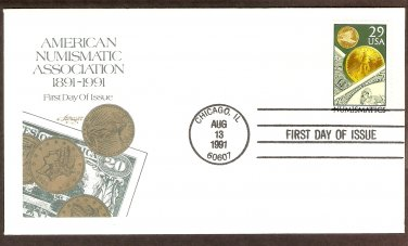 100th Anniversary American Numismatic Association First Issue USA