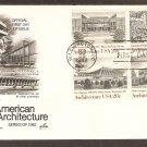 Architecture Frank Lloyd Wright Walter Gropius Mies Van Der Rohe Eero Saarinen FDC USA