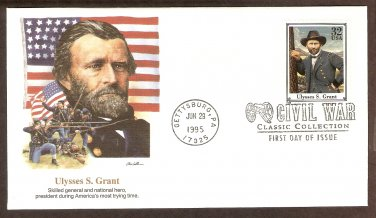 Civil War General Ulysses S. Grant, Gettysburg, FW First Issue USA