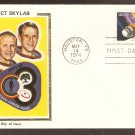 NASA Space Skylab Mission, Houston, Texas, Colorano Silk First Issue USA