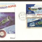 Apollo Soyuz, US Space Mission, Russia, Kennedy Space Center, 1975 FW First Issue USA!