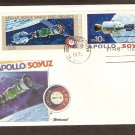 Apollo Soyuz, US Space Mission, Russia, Kennedy Space Center, 1975 FW B First Issue USA!