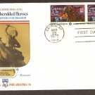 Sybil Ludington, Heroine, American Revolution Bicentennial First Issue USA