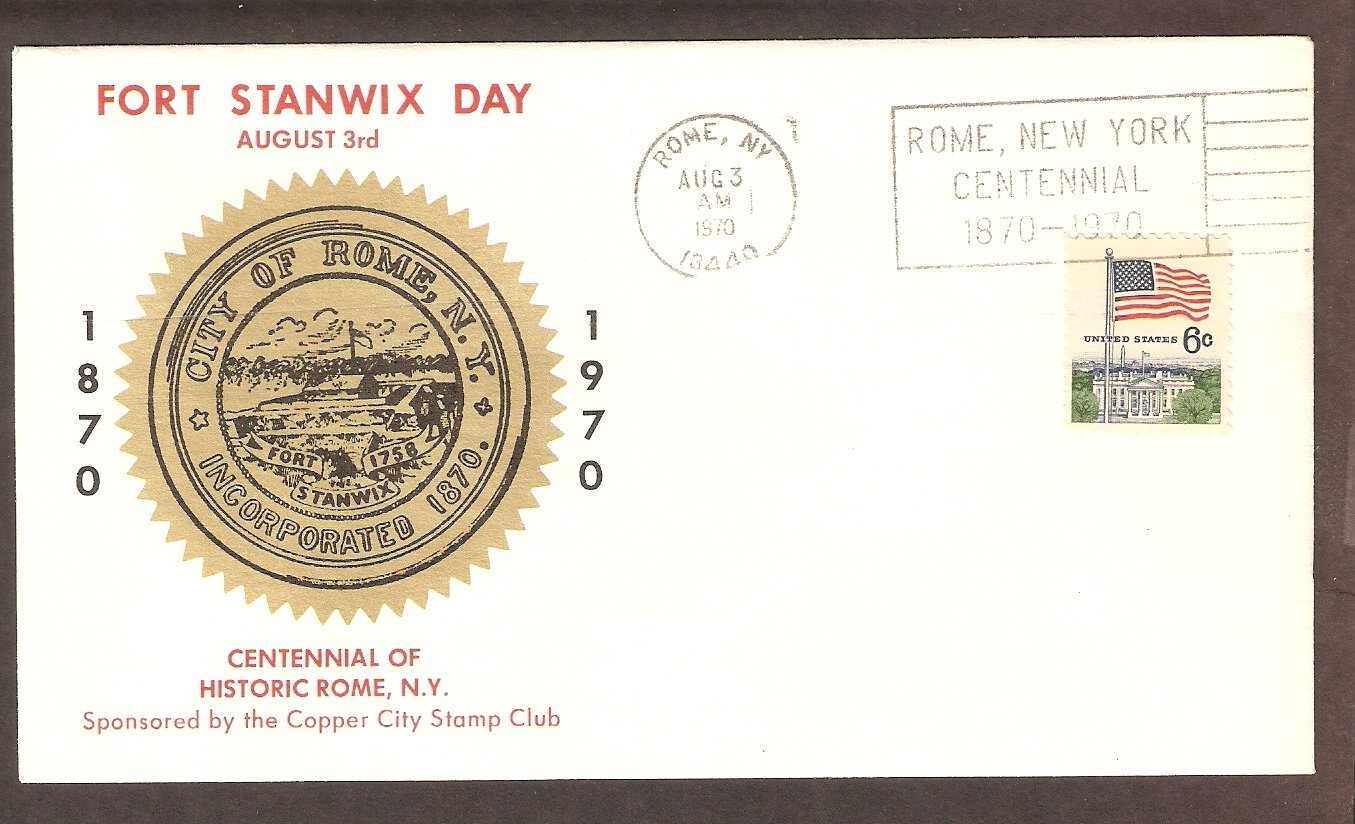 Fort Stanwix Day, Centennial of Rome, NY 1970