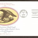 American Bald Eagle, Juneau, Alaska 1975 First Issue USA