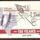 Texas Sesquicentennial, NAPUS Postmasters, Silver Spur 1986 Event Cover
