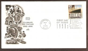 Celebrating the Century, 1990s, Titanic, First Issue USA