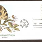 American Wildlife, Swallowtail Butterfly, FW First Issue USA