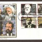 Pioneers of Communication, Ives, Mergenthaler, Dickson, Muybridge, CS First Issue USA
