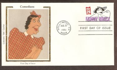 Fanny Brice, Al Hirschfeld, Colorano First Day of Issue USA FDC