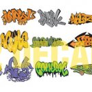 HO Scale Custom Graffiti Decals #3