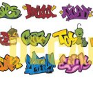 HO Scale Custom Graffiti Decals #5