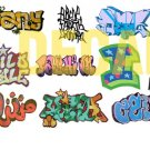 HO Scale Custom Graffiti Decals #13