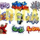 HO Scale Custom Graffiti Decals #14