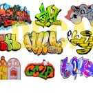 HO Scale Custom Graffiti Decals #16