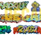 HO Scale Custom Graffiti Decals #20