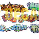 HO Scale Custom Graffiti Decals #21