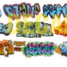 HO Scale Custom Graffiti Decals #22