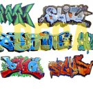 HO Scale Custom Graffiti Decals #23