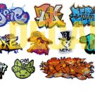 HO Scale Custom Graffiti Decals #24