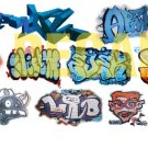 HO Scale Custom Graffiti Decals #30