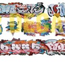 HO Scale Custom Graffiti Decals #33