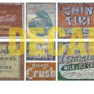 HO Scale Ghost Sign Decals #17