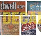 HO Scale Ghost Sign Decals #22