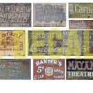 HO Scale Ghost Sign Decals #31
