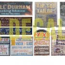 HO Scale Ghost Sign Decals #36
