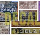 HO Scale Ghost Sign Decals #38