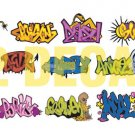 N Scale Custom Graffiti Decals #1