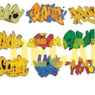 N Scale Custom Graffiti Decals #7