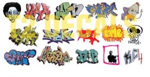 N Scale Custom Graffiti Decals #12