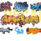 N Scale Custom Graffiti Decals #26