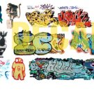 N Scale Custom Graffiti Decals #32