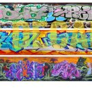 N Scale Custom Graffiti Decals #36
