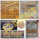 O Scale Ghost Sign Decals #18