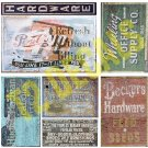 O Scale Ghost Sign Decals #26