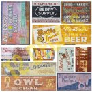 O Scale Ghost Sign Decals #29