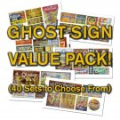 O Scale Ghost Sign Decals Value Pack-OVER 40% DISCOUNT