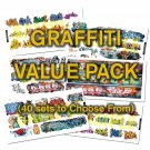 HO Scale Graffiti Decals Value Pack-40% DISCOUNT