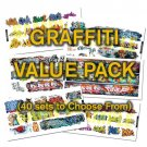 HO or N Scale Graffiti Decals Value Pack-25% DISCOUNT