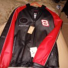 BRAND NEW NWT 2005 dale earnhardt JR SIGNATURE SERIES LEATHER JACKET LIMITED SIZE LARGE