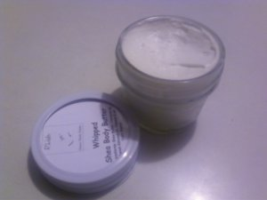 Whipped Shea Butter and Coconut Oil Body Butter
